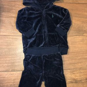 Velvet Ralph Lauren 2-Pc Jogging Suit